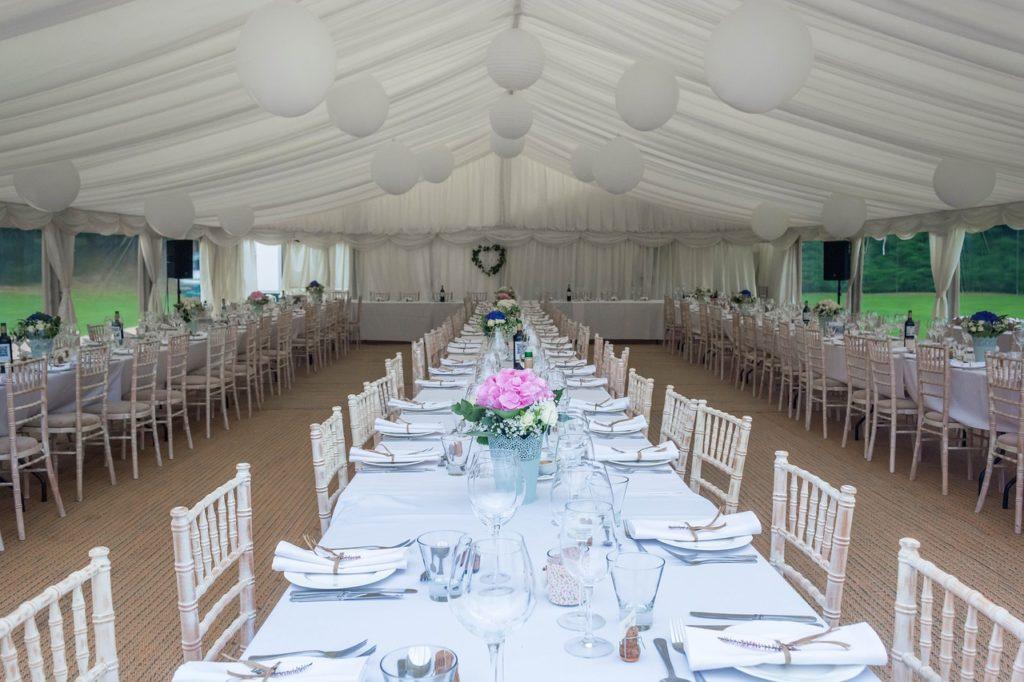 Salle mariage ouverture de bal